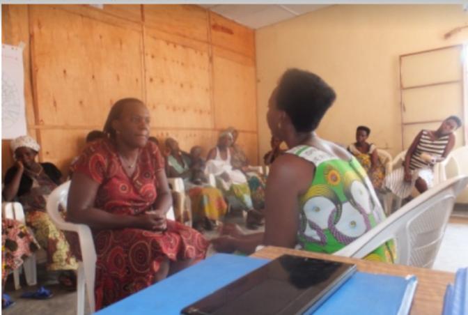 Trauma healing workshops for Gender Based Violence survivors